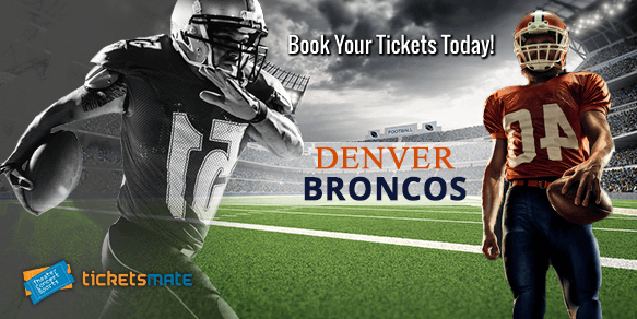 Denver Broncos tickets for sale