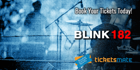 Blink 182 Tickets