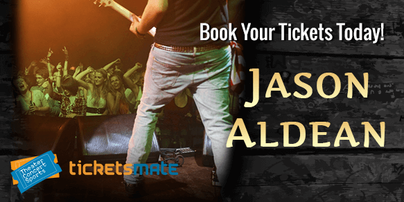 Jason Aldean They Don't Know Tour Tickets