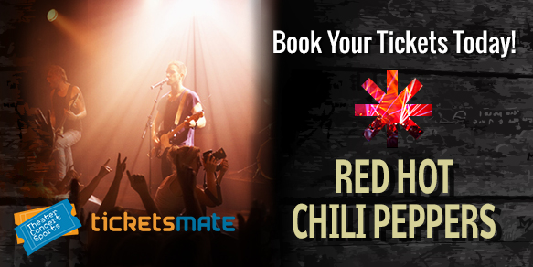 Red Hot Chilli Peppers Concert Tickets