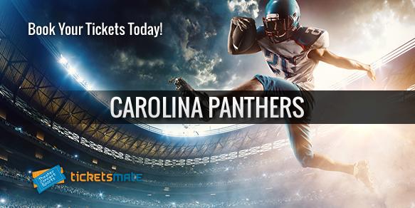 Carolina Panthers football tickets