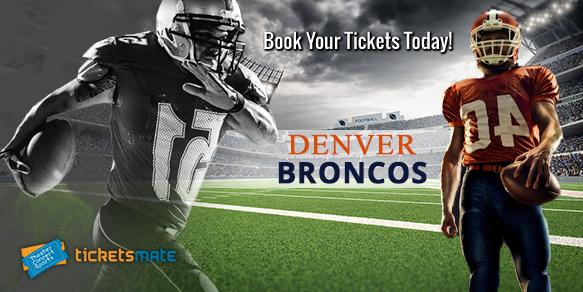 Denver Broncos tickets for sale