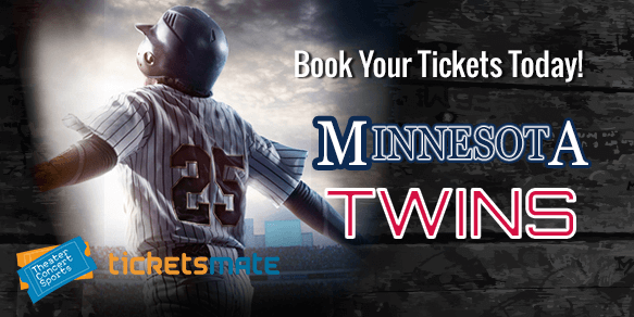 0d4a1fe3 Minnesota Twins Tickets, 2019 Games Schedule & Promo Codes