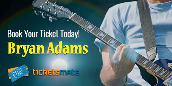 Bryan Adams 2020  Tickets