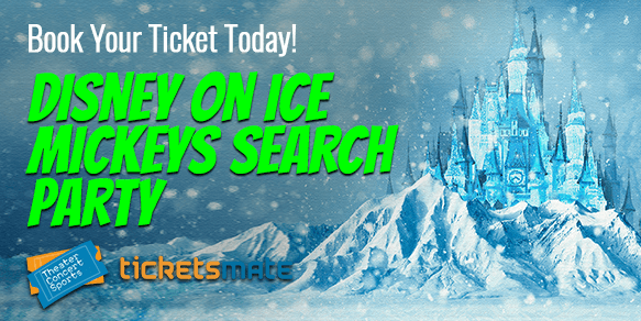 Disney on Ice Mickeys Search Party Tickets