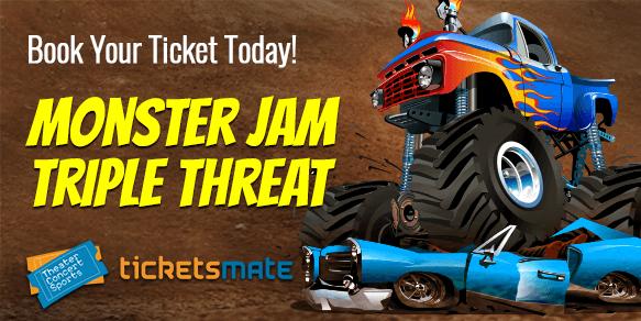 Monster Jam Triple Threat Tickets
