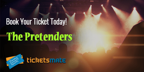 The Pretenders 2020 Tour Tickets